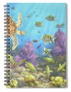 Gathering In The Reef Spiral Notebook