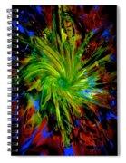 Gathering Of Blue Spiral Notebook