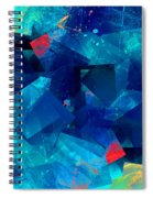 Gathering Of The Squares Spiral Notebook