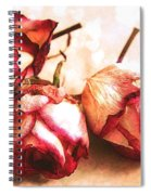 Gathering Rosebuds Spiral Notebook