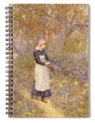 Gathering Wood For Mother Spiral Notebook