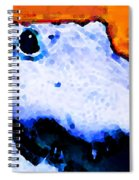 Gator Art - Swampy Spiral Notebook
