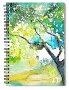 Gatova Spain 04 Spiral Notebook