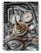 Gauges And Tanks For Cutting Torches Spiral Notebook