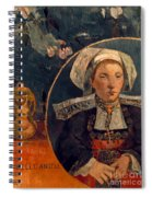 Gaugin: Belle Angele, 1889 Spiral Notebook