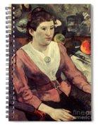Gaugin: Marie Derrien, 1890 Spiral Notebook