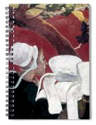 Gaugin: Vision, 1888 Spiral Notebook