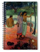 Gauguin: Call, 1902 Spiral Notebook