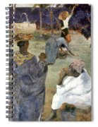 Gauguin: Martinique, 1887 Spiral Notebook