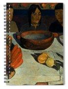 Gauguin: Meal, 1891 Spiral Notebook