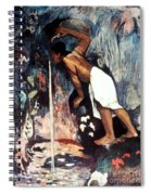 Gauguin: Pape Moe, 1892 Spiral Notebook