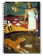 Gauguin: Pastoral, 19th C Spiral Notebook