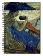 Gauguin: Pirogue, 19th C Spiral Notebook