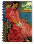 Gauguin: Reverie, 1891 Spiral Notebook