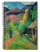 Gauguin Tahiti 19th Century Spiral Notebook