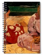 Gauguin: Tahiti Women, 1891 Spiral Notebook