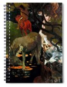 Gauguin: White Horse, 1898 Spiral Notebook