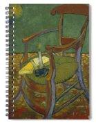 Gauguin's Chair Spiral Notebook