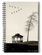 Gazebo And Geese Spiral Notebook