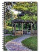 Gazebo At Madison County Bridges Spiral Notebook