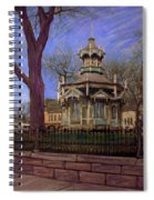 Gazebo At Wisconsin Club Spiral Notebook