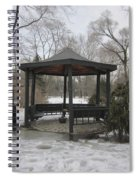Gazebo On Ice Spiral Notebook