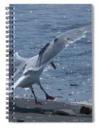 Gear Down Spiral Notebook