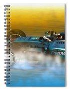 Gear Switch  Spiral Notebook