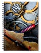 Geared For Art Spiral Notebook