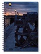 Gears At Daybreak  Spiral Notebook