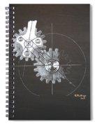Gears No1 Spiral Notebook