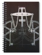 Gears No2 Spiral Notebook