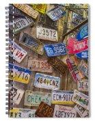 Geddy's Down Under Spiral Notebook