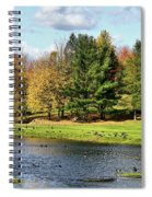 Geese Sanctuary Spiral Notebook