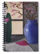 Geisha Doll Spiral Notebook