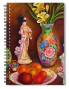 Geisha Dolls Spiral Notebook