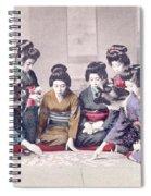 Geishas Spiral Notebook