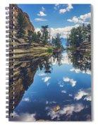 Gem Lake Reflections Spiral Notebook