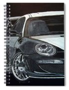 Gemballa Porsche Right Spiral Notebook