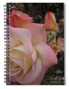 Gemini Rose Spiral Notebook