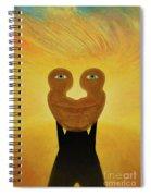 Gemini. Self-portrait Spiral Notebook