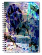 Gems Of Ice Spiral Notebook
