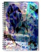 Gems Of Ice Spiral Notebook