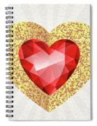 Gemstone - 2 Spiral Notebook
