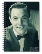 Gene Kelly, Vintage Actor/dancer Spiral Notebook