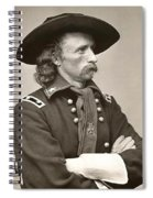 General Custer Spiral Notebook