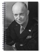 General Dwight Eisenhower Spiral Notebook