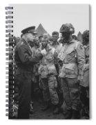 General Eisenhower On D-day  Spiral Notebook