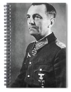 General Friedrich Wilhelm Ernst Paulus 1942 Spiral Notebook