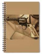 General Patton's Model 1873 Colt 45 Revolver  Spiral Notebook